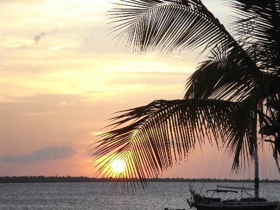 Μπονέρ: sunset