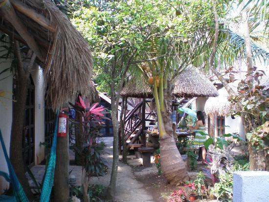 Hotel Kin Ha Pueblo: jardin kin ha pueblo 2