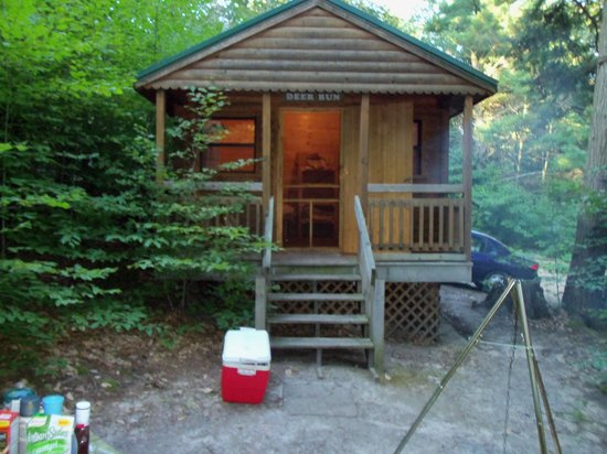 Stony Haven Campground: our cabin