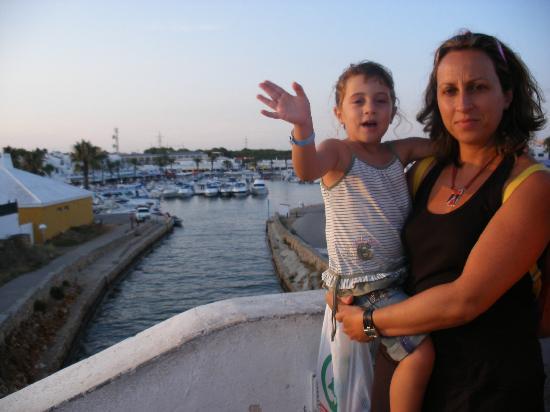 Eden Village Siesta Playa: mami y paula en el lago
