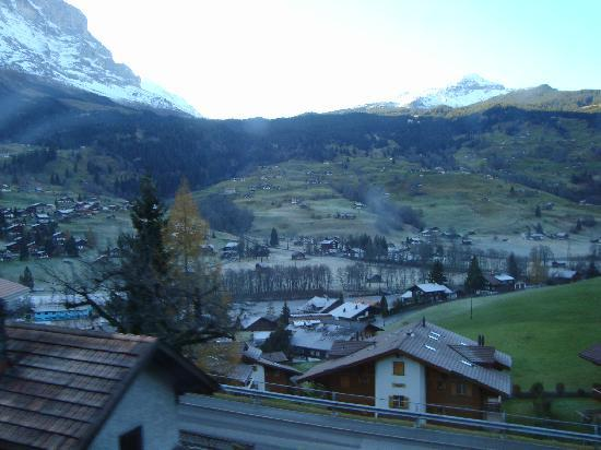 Hotel Interlaken: The view shown cannot match it in person, ever....