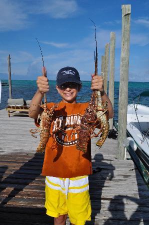 Playa Blanca Villa: Lobster