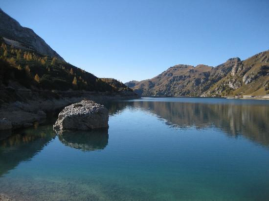 Campitello di Fassa, อิตาลี: lago fedaia a 15 min. di macchina dall'albergo