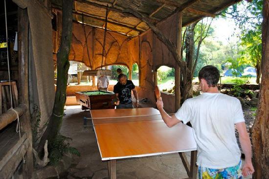 Kembu Cottages: games room