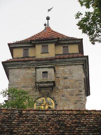 Spital Bastion: tower