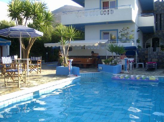 Hotel Villa Anna: piscina della villa
