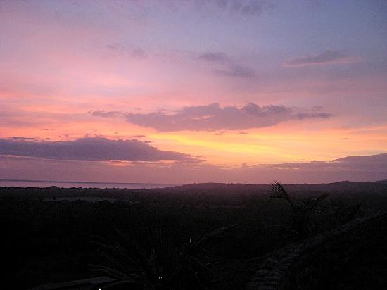 Costa Rica Yoga Spa: sunsets from the deck