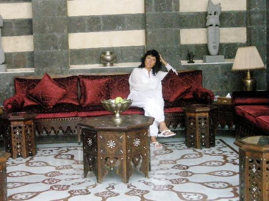 Beit Zafran Hotel de Charme: L'entrata