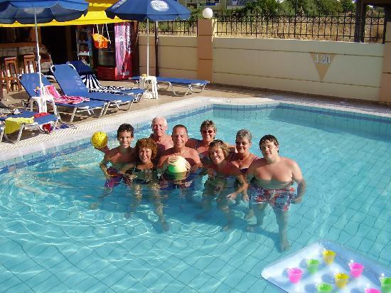 Villa Diasselo Apartments: Team 2010