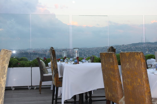 Ulus 29 Restaurant: view