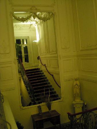 Villa Raczynski: The beautiful staircase