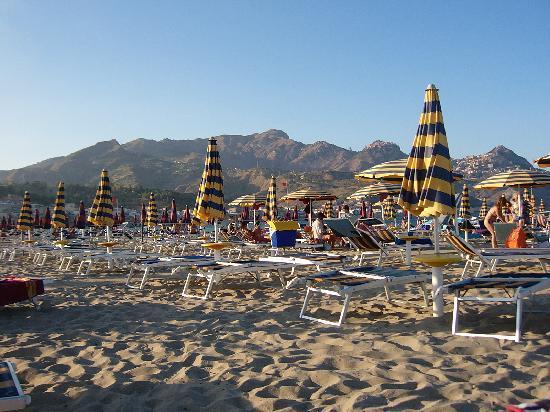 Hotel Sabbie d'Oro: la spiaggia