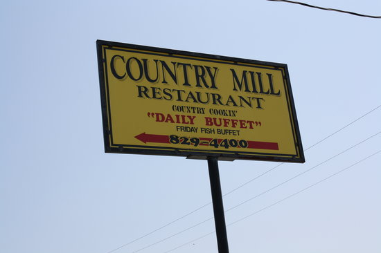 Country Mill Restaurant: Welcome