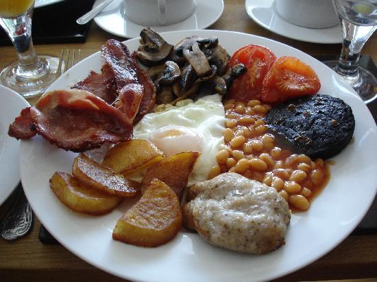 Stoke Gabriel, UK: very tasty breakfast!
