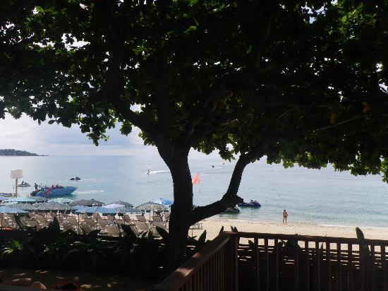 Lamai Wanta: View from breakfast area