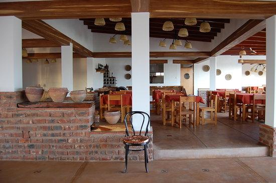 Casa Hacienda Nasca Oasis: Restaurant