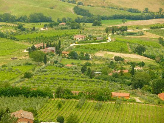 Agriturismo Casagrande: Montepulciano