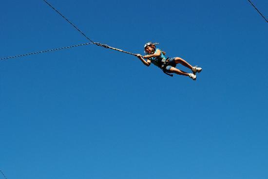 Monkey Trunks: Swinging through the air!