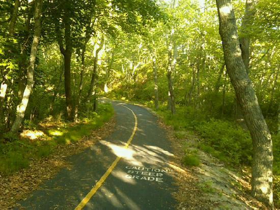 The Chicago House: Terrific trails for a good uphill workout or downhill race