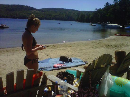 Cottage Place on Squam Lake: Beach