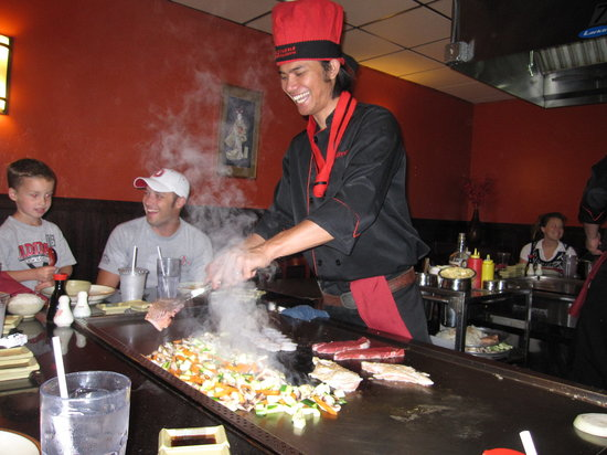 Fujiyama : the entertaining chef