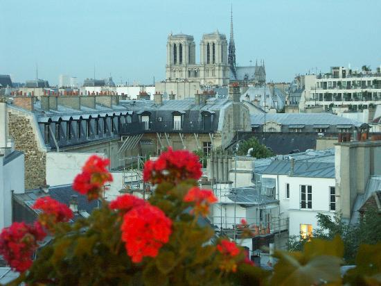 Left Bank Saint Germain: View From Bed