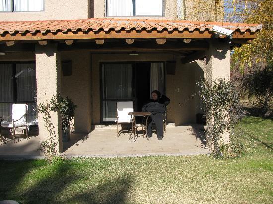 Lares de Chacras: View from Garden