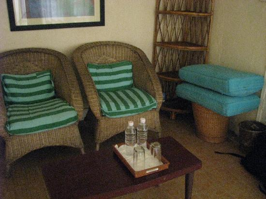 Boddhi Tree Guesthouse: The little sitting area