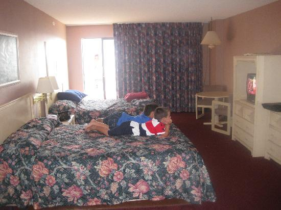 Americana Hotel: large room