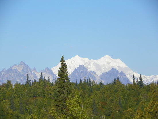 Trapper Creek, AK: Mt McKinley