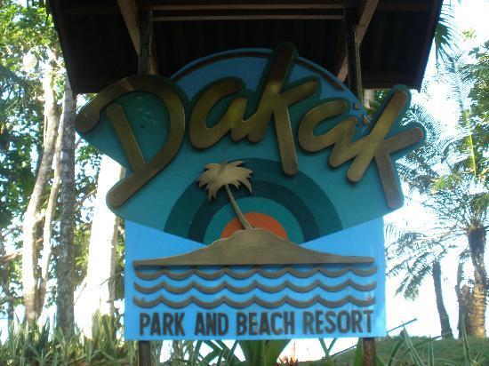Dakak Park & Beach Resort: Welcome to Dakak Resort
