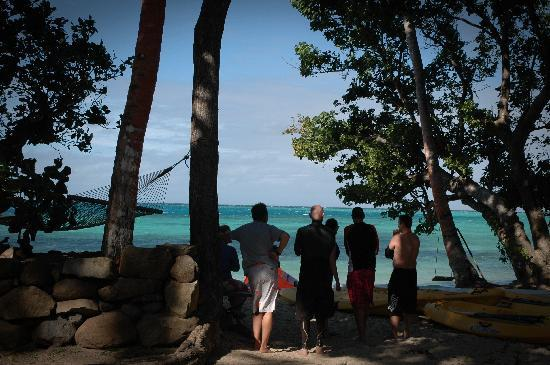 Safari Island Lodge: Checking out the conditions
