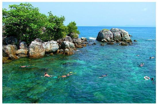 Koh Chang Cliff Beach Resort: Crystal Water