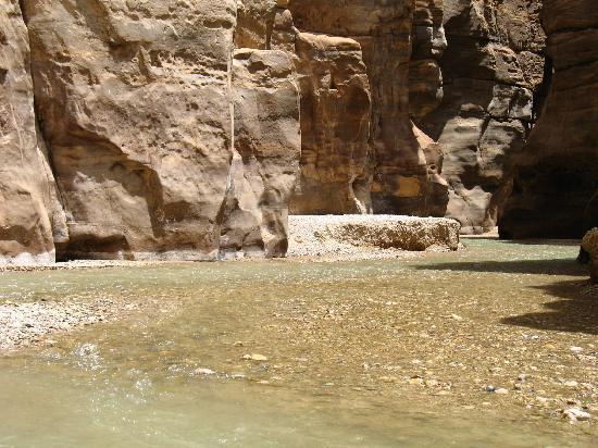 Wadi al-Mujib: Weg ins Wadi
