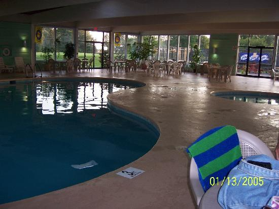 Fox Hills Resort: Indoor pool & hot tub area