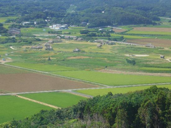 Iki, Japan: 博物館から見る原の辻遺跡