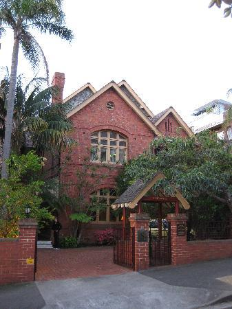 Simpsons of Potts Point Hotel: Quiet and secluded