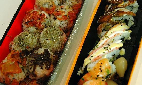 The Westin Chosun Seoul: Korean sushi (not at the hotel)