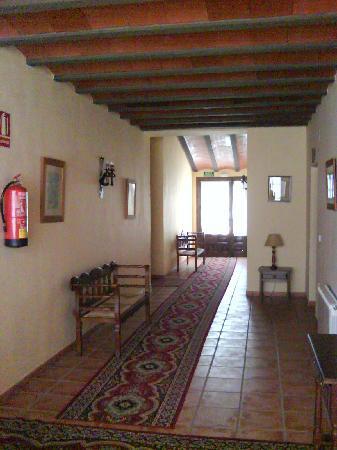 Hotel Bodega La Venta: pasillo