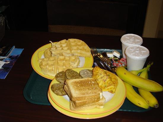 Homewood Suites by Hilton Lake Buena Vista-Orlando: Algo de desayuno