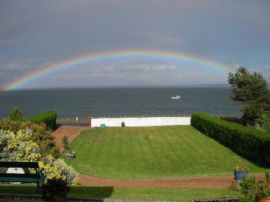 Fair Isle Bed and Breakfast: Fantastic Ocean view