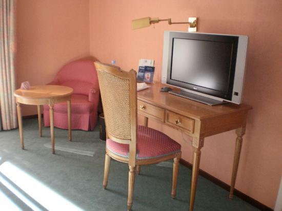 Hotel de la Paix: interior