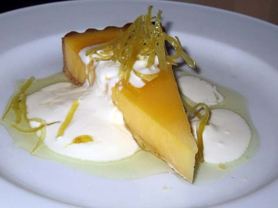 Jamie Oliver's Fifteen: Fifteen - Lemon Curd Tart