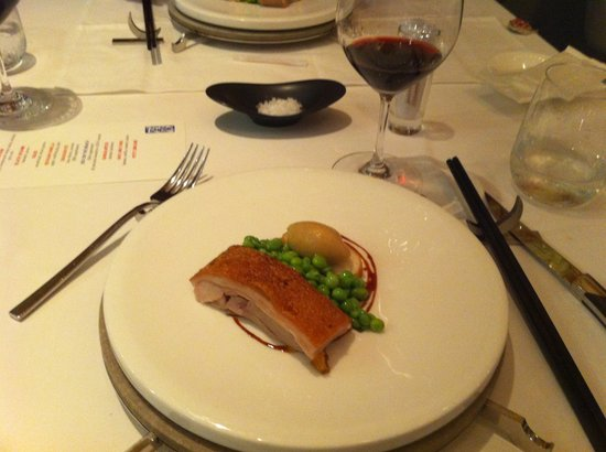 Bo Innovation : pork course