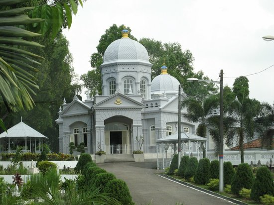 Johor Bahru, Malaysia: Mausuleum der Königsfamilie