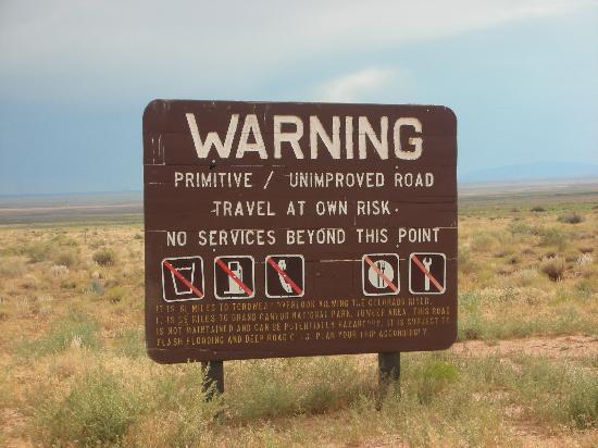 Toroweap Point: Be Careful