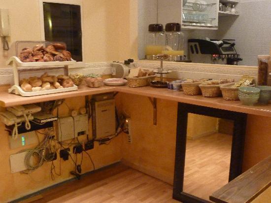 Residenza Ki Rome : petit déjeuner
