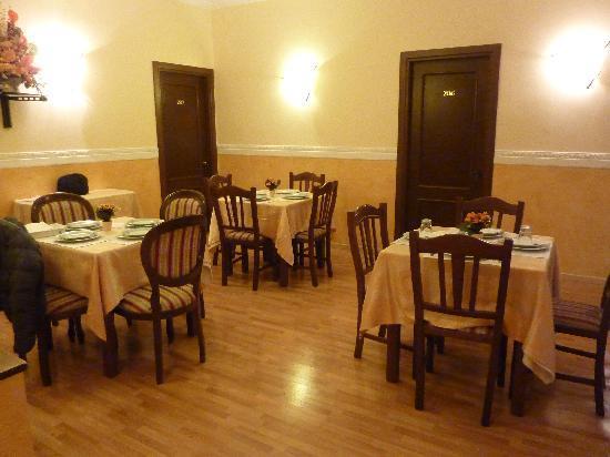 Residenza Ki Rome : salle petit déjeuner