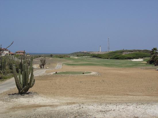 Noord, Aruba: Hole 1 - par 5