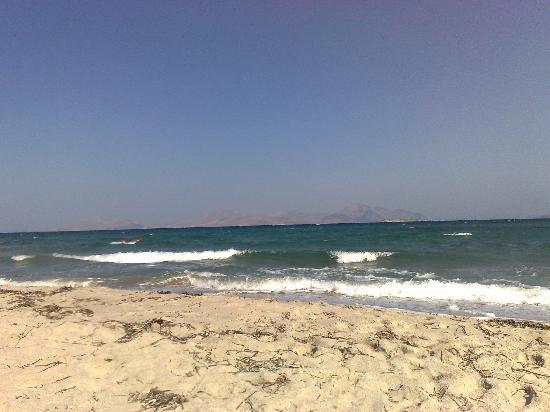 Atlantica Marmari Beach: Spiaggia e Mare